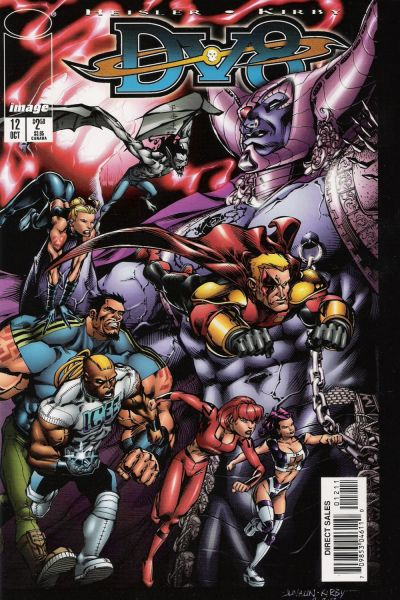 Cover for DV8 (Image, 1996 series) #12