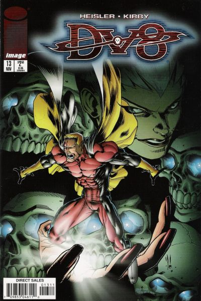 Cover for DV8 (Image, 1996 series) #13