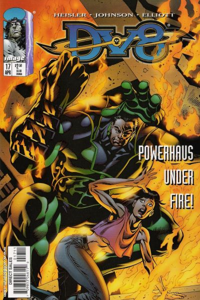 Cover for DV8 (Image, 1996 series) #17