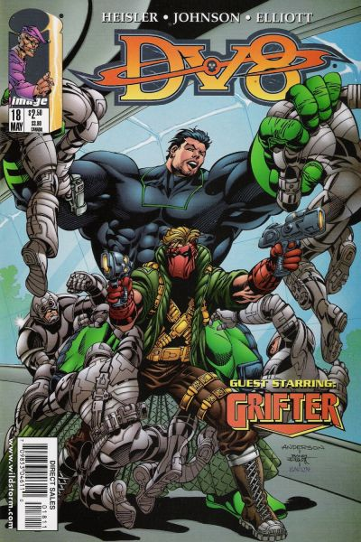 Cover for DV8 (Image, 1996 series) #18