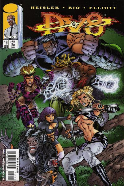 Cover for DV8 (Image, 1996 series) #19