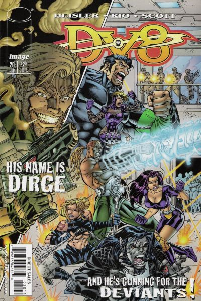 Cover for DV8 (Image, 1996 series) #20