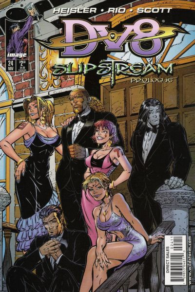 Cover for DV8 (Image, 1996 series) #24