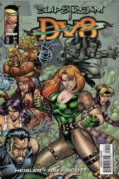 Cover for DV8 (Image, 1996 series) #25