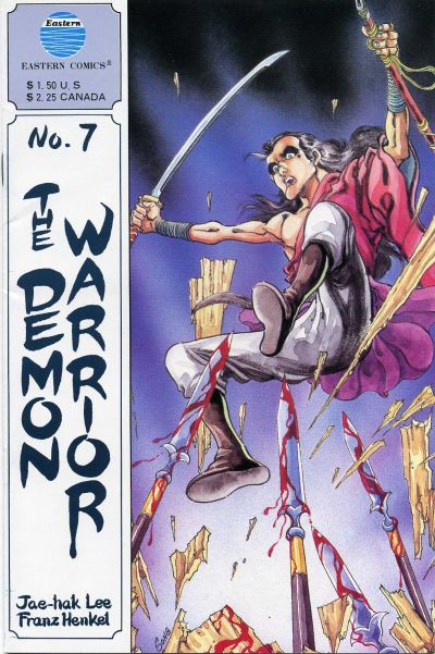 Cover for The Demon Warrior (Eastern Comics, 1987 series) #7