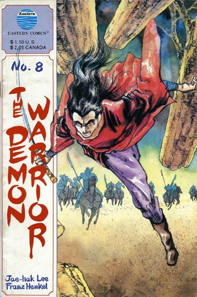 Cover for The Demon Warrior (Eastern Comics, 1987 series) #8