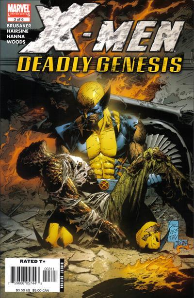 Cover for X-Men: Deadly Genesis (Marvel, 2006 series) #3