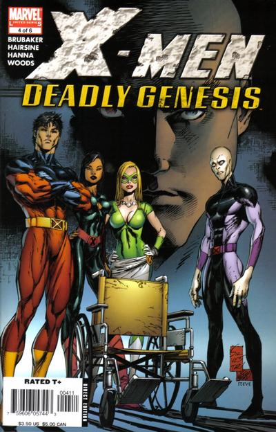 Cover for X-Men: Deadly Genesis (Marvel, 2006 series) #4