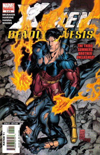 Cover for X-Men: Deadly Genesis (Marvel, 2006 series) #5