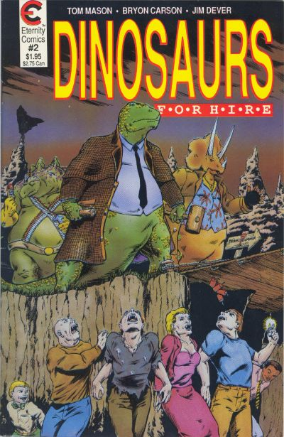 Cover for Dinosaurs for Hire (Malibu, 1988 series) #2