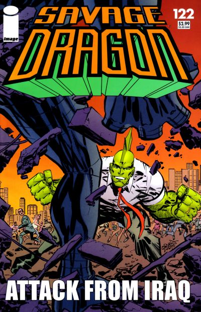 Cover for Savage Dragon (Image, 1993 series) #122