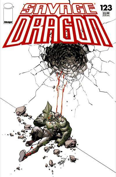 Cover for Savage Dragon (Image, 1993 series) #123