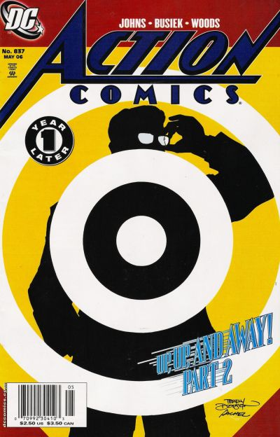 Cover for Action Comics (DC, 1938 series) #837