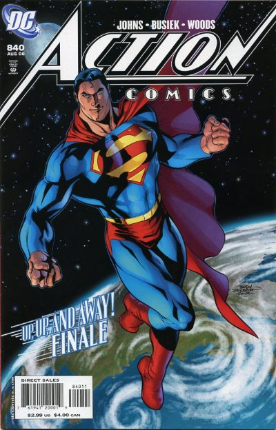Cover for Action Comics (DC, 1938 series) #840