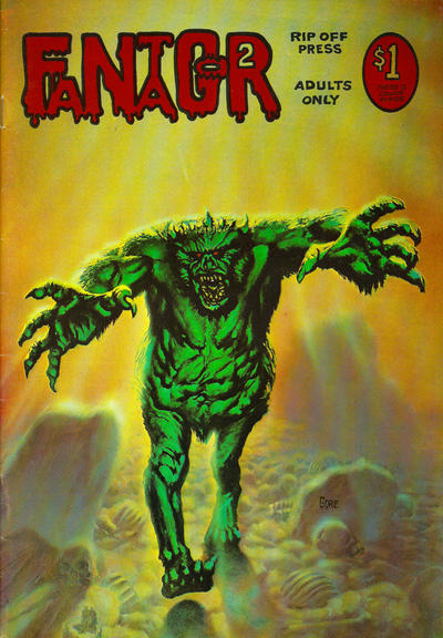 Cover for Fantagor (Rip Off Press, 1972 series) #2