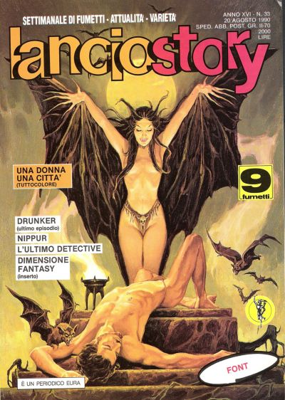 Cover for Lanciostory (Eura Editoriale, 1975 series) #v16#33