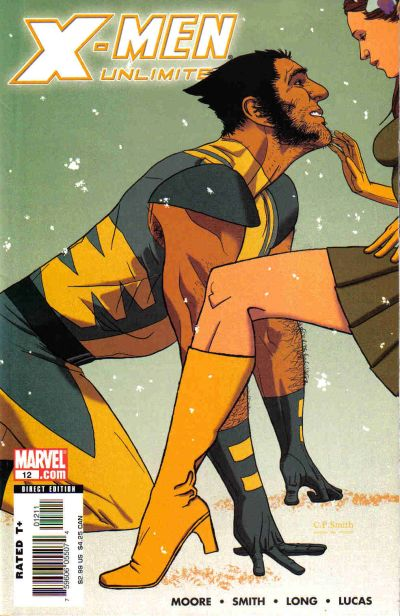 Cover for X-Men Unlimited (Marvel, 2004 series) #12