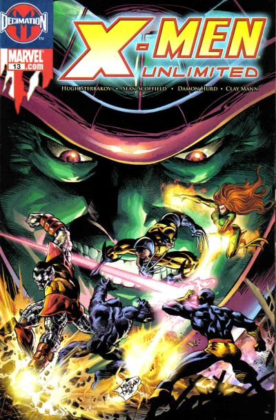 Cover for X-Men Unlimited (Marvel, 2004 series) #13