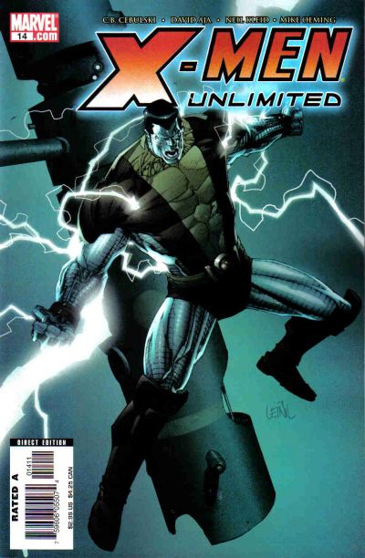Cover for X-Men Unlimited (Marvel, 2004 series) #14