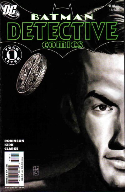 Cover for Detective Comics (DC, 1937 series) #818 [First Printing]