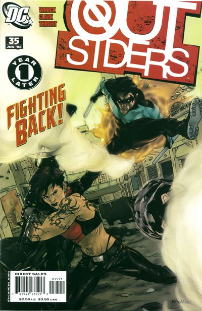 Cover for Outsiders (DC, 2003 series) #35