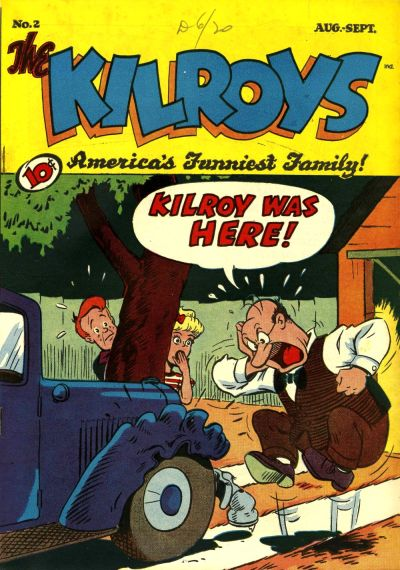 Cover for The Kilroys (American Comics Group, 1947 series) #2
