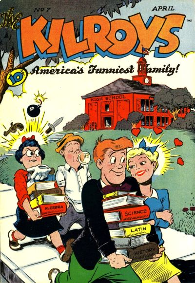 Cover for The Kilroys (American Comics Group, 1947 series) #7
