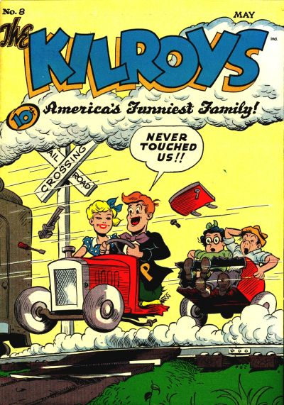 Cover for The Kilroys (American Comics Group, 1947 series) #8
