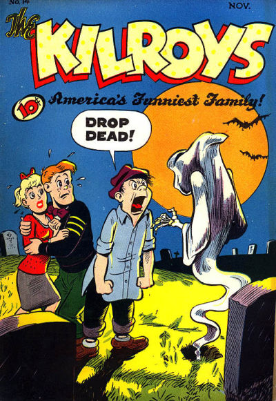 Cover for The Kilroys (American Comics Group, 1947 series) #14