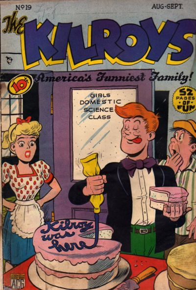 Cover for The Kilroys (American Comics Group, 1947 series) #19
