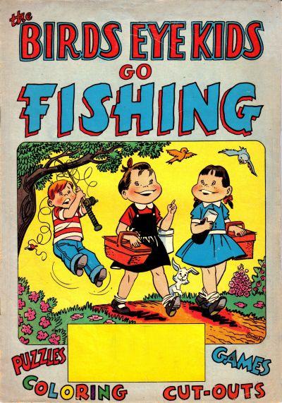 Cover for The Birds Eye Kids Go Fishing (Marvel, 1958 series)