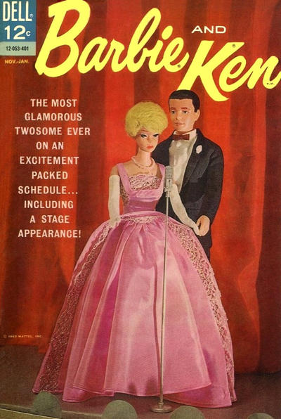 Cover for Barbie and Ken (Dell, 1962 series) #5