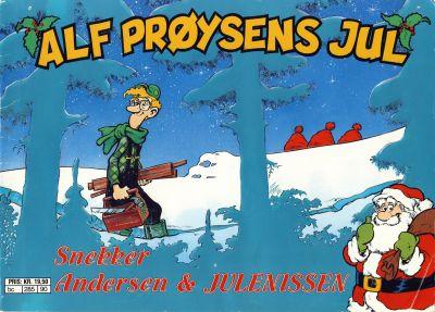 Cover for Alf Prøysens Jul (Semic, 1990 series) #[1990]