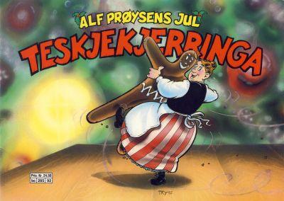 Cover for Alf Prøysens Jul (Semic, 1990 series) #1992