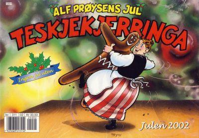 Cover for Alf Prøysens Jul (Hjemmet / Egmont, 2001 series) #2002