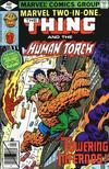 Cover for Marvel Two-in-One (Marvel, 1974 series) #59 [Direct]