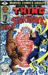 Cover for Marvel Two-in-One (Marvel, 1974 series) #61 [Direct]