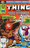 Cover for Marvel Two-in-One (Marvel, 1974 series) #79 [Direct]