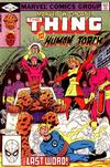 Cover for Marvel Two-in-One (Marvel, 1974 series) #89 [Direct]