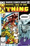 Cover for Marvel Two-in-One (Marvel, 1974 series) #96 [Direct]