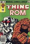 Cover for Marvel Two-in-One (Marvel, 1974 series) #99 [Newsstand]