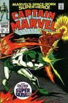Cover for Marvel's Space-Born Superhero! Captain Marvel (Marvel, 1968 series) #2