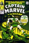 Cover for Marvel's Space-Born Superhero! Captain Marvel (Marvel, 1968 series) #3