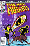 Cover for The New Mutants (Marvel, 1983 series) #1 [Direct Edition]