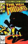 Cover for The New Mutants (Marvel, 1983 series) #3 [Direct]