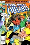 Cover for The New Mutants (Marvel, 1983 series) #7 [Direct]