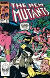 Cover for The New Mutants (Marvel, 1983 series) #8 [Newsstand Edition]