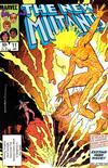 Cover for The New Mutants (Marvel, 1983 series) #11 [Direct]