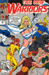 Cover for The New Warriors (Marvel, 1990 series) #10 [J. C. Penny Variant]