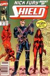 Cover for Nick Fury, Agent of S.H.I.E.L.D. (Marvel, 1989 series) #12